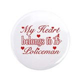 "Policeman Design 3.5"" Button (100 pack)"