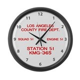 KMG-365 Squad 51 Large Wall Clock