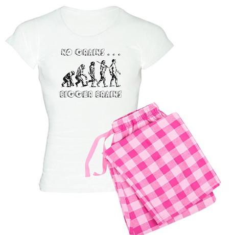 No Grains, Bigger Brains Women's Light Pajamas