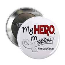 "My Hero Lung Cancer 2.25"" Button (100 pack)"