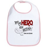 My Hero Lung Cancer Bib