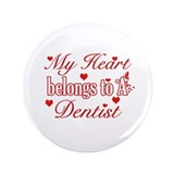 "Dentist Design 3.5"" Button"