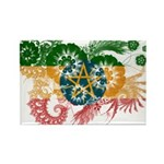 Ethiopia Flag Rectangle Magnet (10 pack)