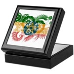 Ethiopia Flag Keepsake Box