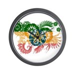 Ethiopia Flag Wall Clock