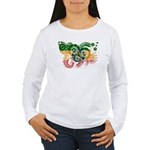 Ethiopia Flag Women's Long Sleeve T-Shirt