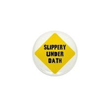 Funny Lawyer Mini Button (10 pack)