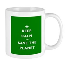 Keep Calm SAVE THE PLANET! Mug