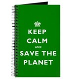 Keep Calm SAVE THE PLANET! Journal