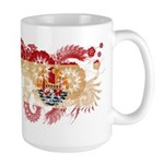 French Polynesia Flag Large Mug