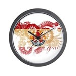 French Polynesia Flag Wall Clock