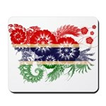 Gambia Flag Mousepad
