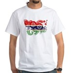 Gambia Flag White T-Shirt