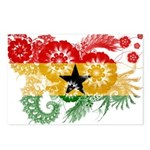 Ghana Flag Postcards (Package of 8)