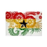 Ghana Flag Rectangle Magnet (100 pack)