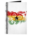 Ghana Flag Journal