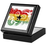 Ghana Flag Keepsake Box