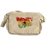 Ghana Flag Messenger Bag
