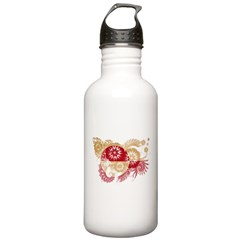Greenland Flag Water Bottle