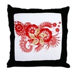 Hong Kong Flag Throw Pillow