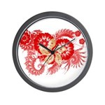 Hong Kong Flag Wall Clock