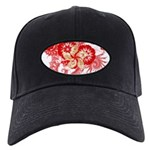 Hong Kong Flag Black Cap