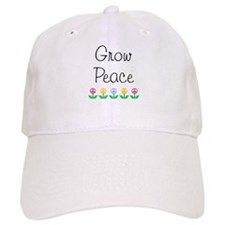 Grow Peace Baseball Cap