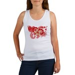 Hong Kong Flag Women's Tank Top