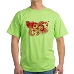 Hong Kong Flag Green T-Shirt