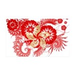 Hong Kong Flag 38.5 x 24.5 Wall Peel