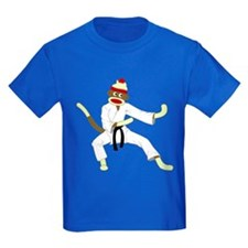 Sock Monkey Karate T