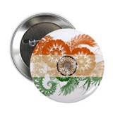 "India Flag 2.25"" Button (100 pack)"