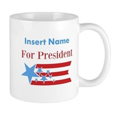 Personalized For President Mug