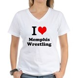 Cool I heart memphis wrestling Shirt