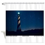 Hatteras Lighthouse. Shower Curtain