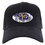 Indiana Flag Black Cap
