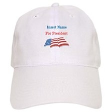 Personalized For President Baseball Cap