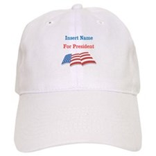 Personalized For President Cap