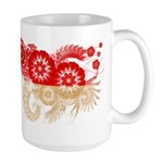 Indonesia Flag Large Mug