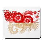 Indonesia Flag Mousepad