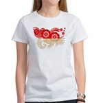 Indonesia Flag Women's T-Shirt