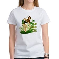 Wild Irish Rose Pinup Tee