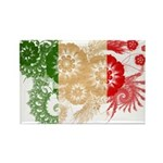 Italy Flag Rectangle Magnet (100 pack)