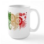 Italy Flag Large Mug