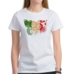 Italy Flag Women's T-Shirt
