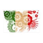 Italy Flag 38.5 x 24.5 Wall Peel