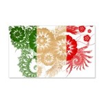 Italy Flag 22x14 Wall Peel