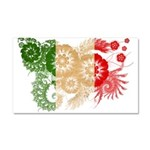Italy Flag Car Magnet 20 x 12