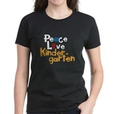 Peace, Love Kindergarten Tee