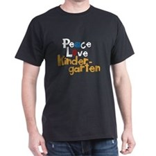 Peace, Love Kindergarten T-Shirt